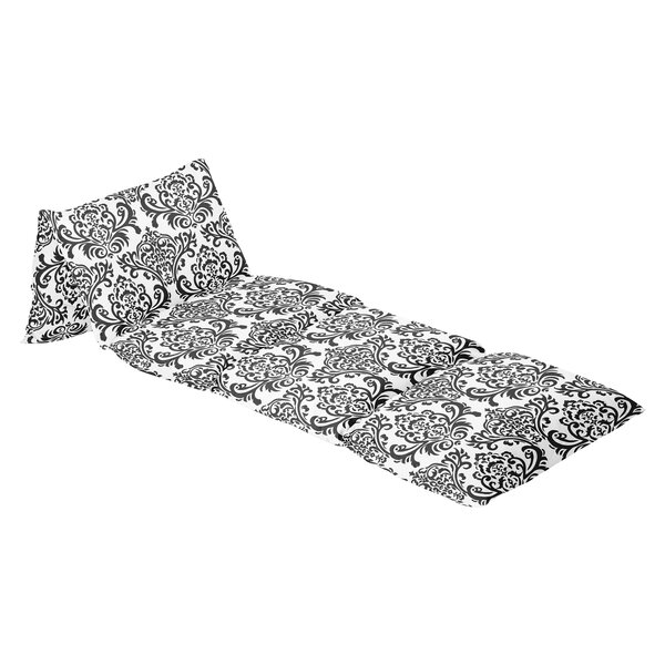Isabella 100% Cotton Floor Pillow Lounger Cover by Sweet Jojo Designs